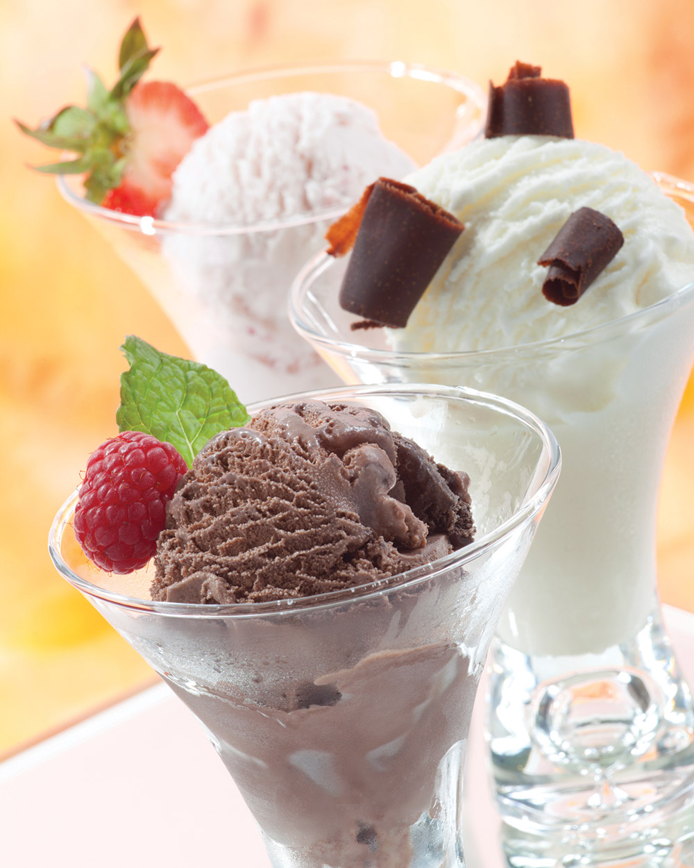 Enjoy the chilly treat while the temperatures rise!