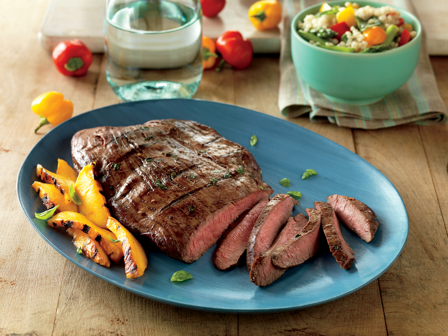 Marinated Flank Steak, Three Ways