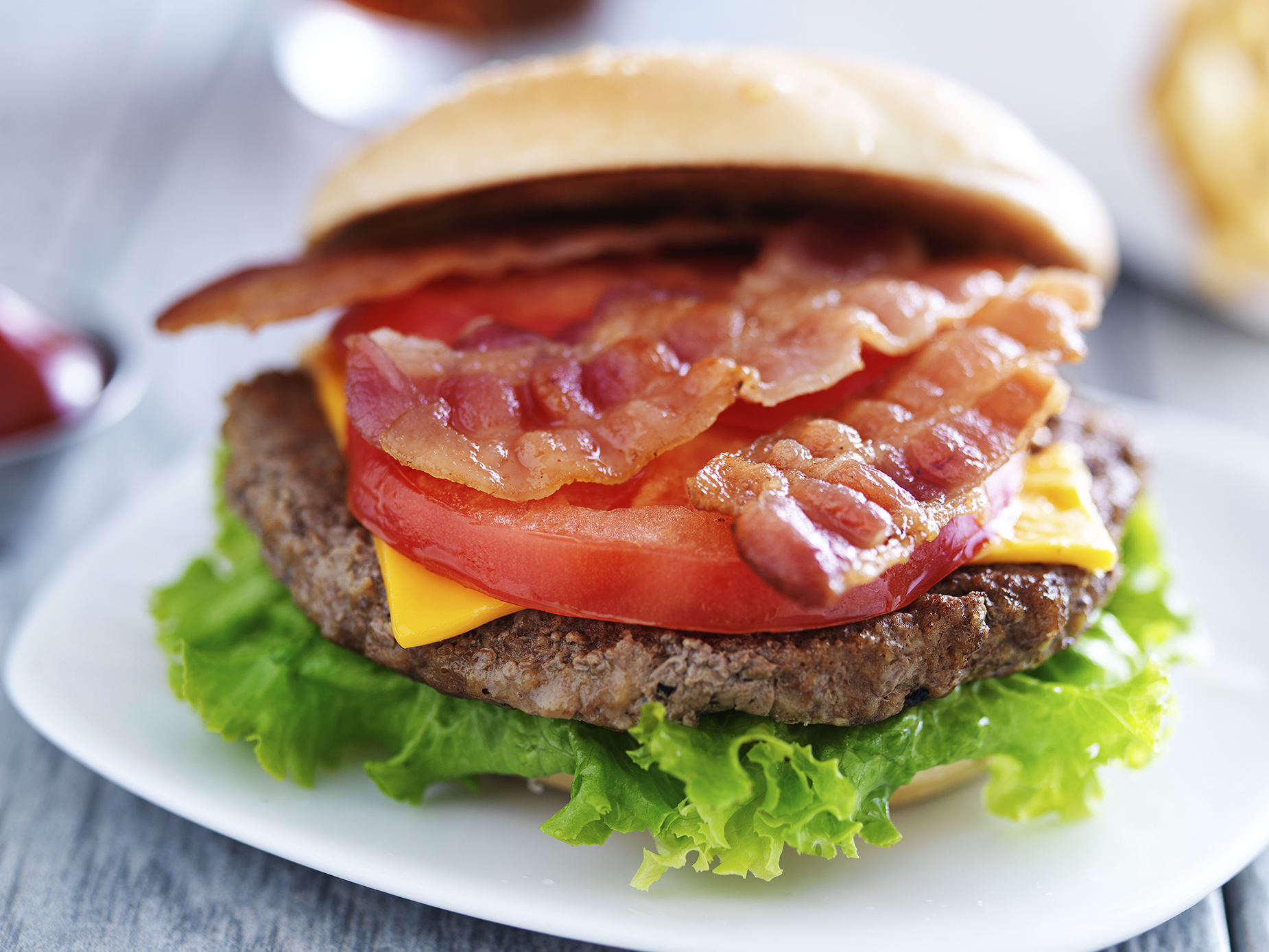 Bacon-Beer Burger
