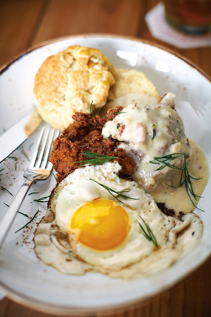 Buttery Biscuits and Sausage Gravy