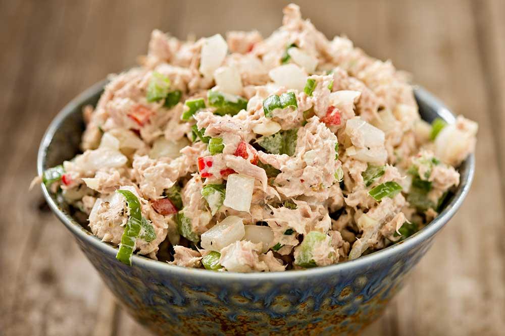 Tuna Salad with a Wasabi Kick