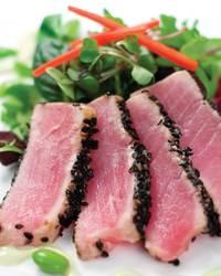 Black Pepper Crusted Ahi Tuna
