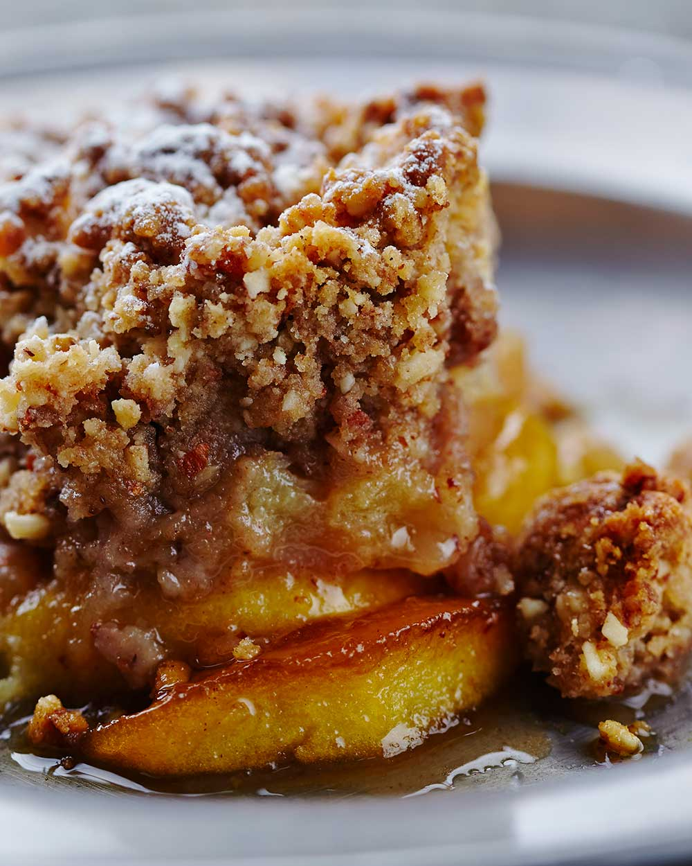No Bake Apple Cobbler