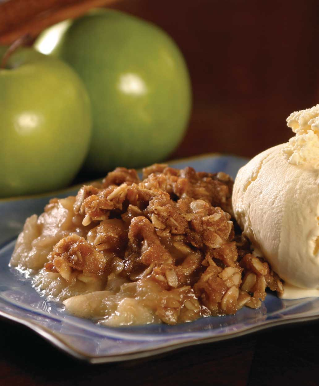 Apple-Oatmeal Crisp