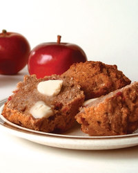 Crumbly Apple-Pumpkin Streusel Muffins