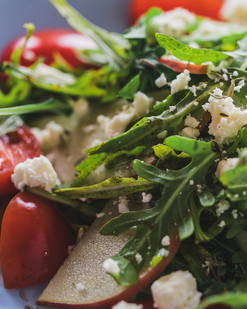 Deliciously Healthy Arugula Salad