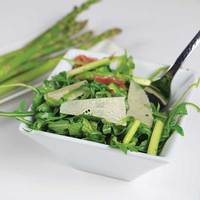 Arugula and Asparagus Ribbon Salad