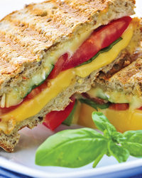 Avocado, Bacon & Ranch Grilled Cheese Sandwiches