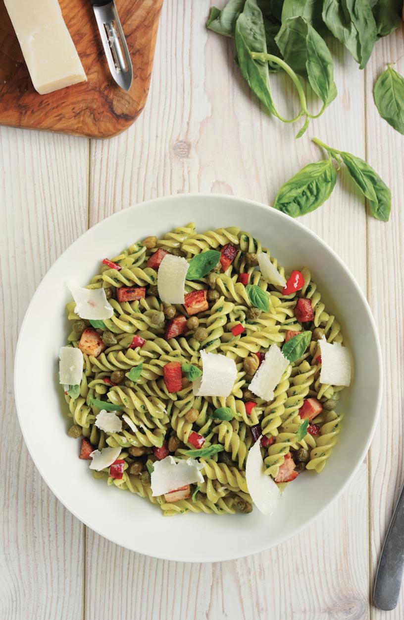 Italian Sausage Pasta Salad