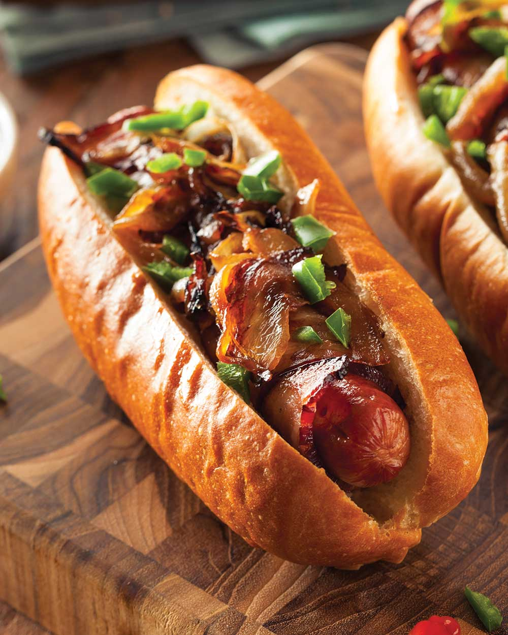 BBQ Bacon Cowboy Hot Dogs