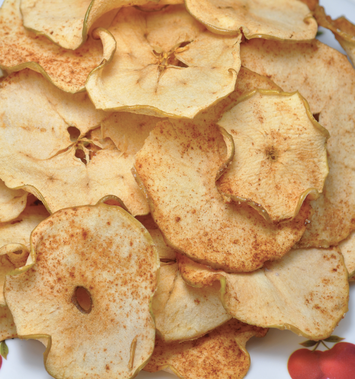 Homemade Red Apple Chips