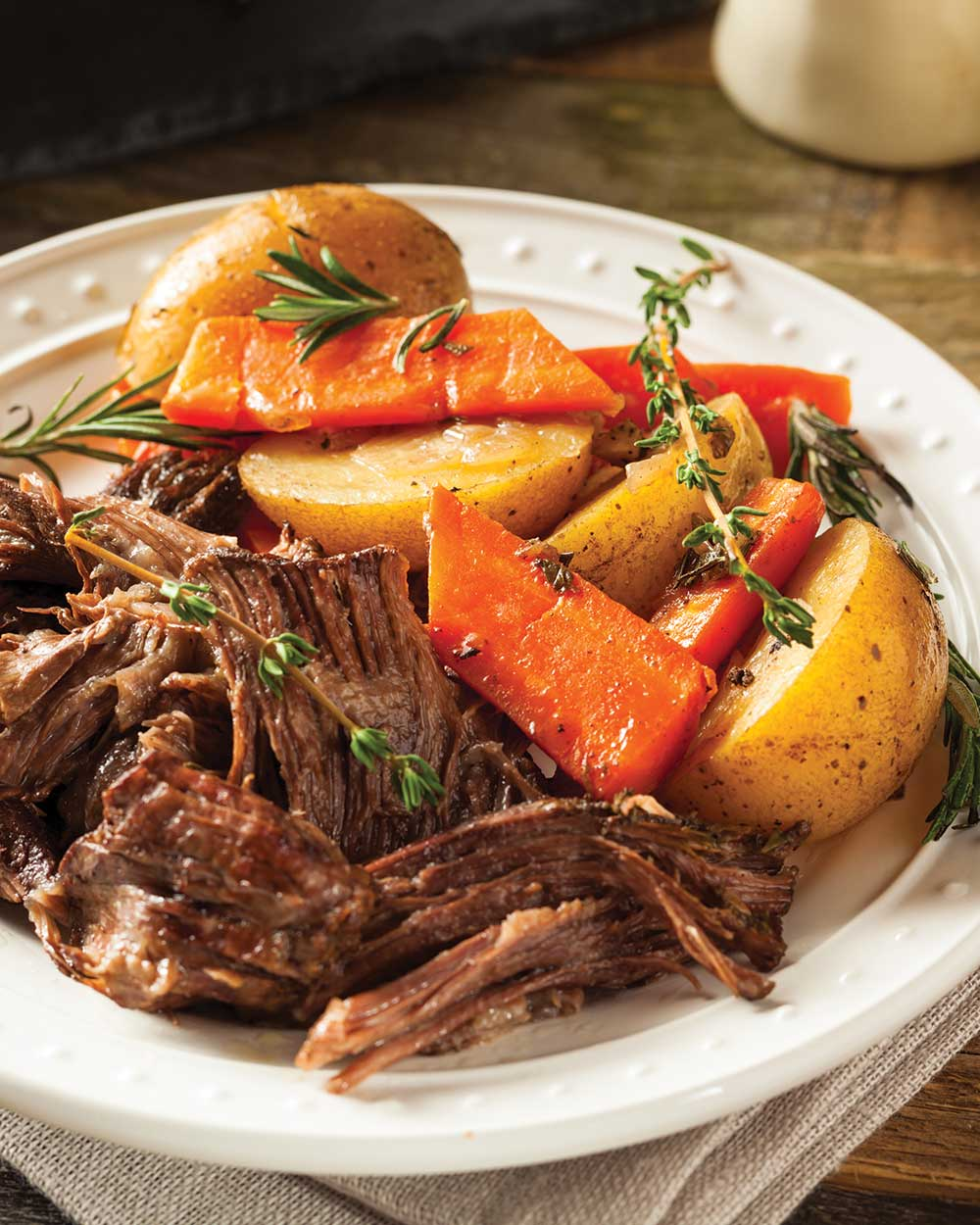 Beef Chuck Pot Roast with Beer