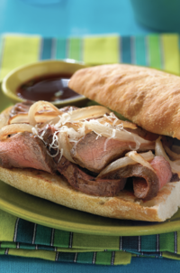 Barbecue Steak Sandwich