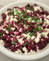 Roasted Beet and Gorgonzola Salad