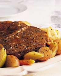 Braised Chuck Roast with Potatoes