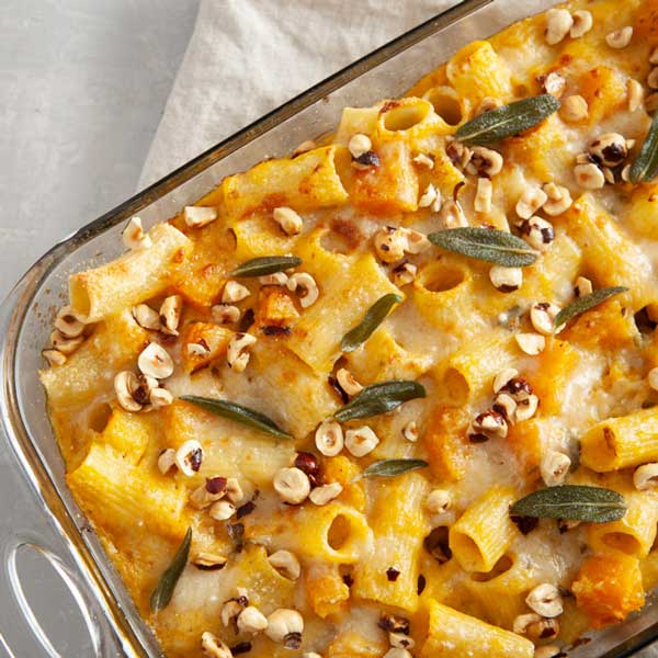 Baked Rigatoni with Butternut Squash