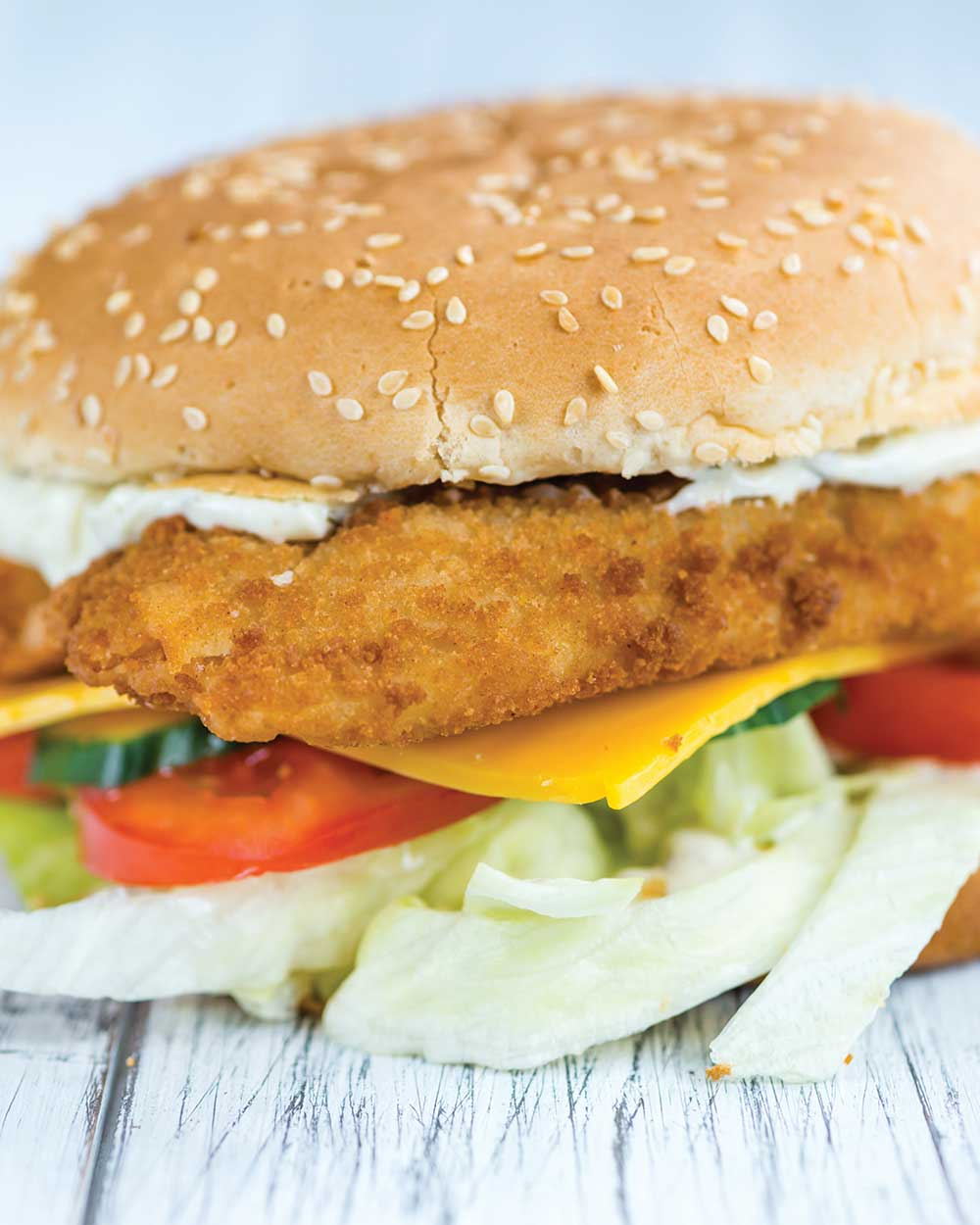 Catfish Sandwiches with Cajun Remoulade