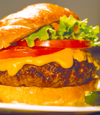 BBQ Cheddar Burgers