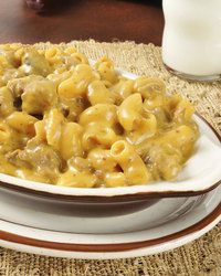 Cheesy Macaroni With Hamburger