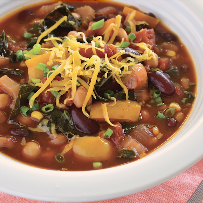 Chunky Three-Bean Chili