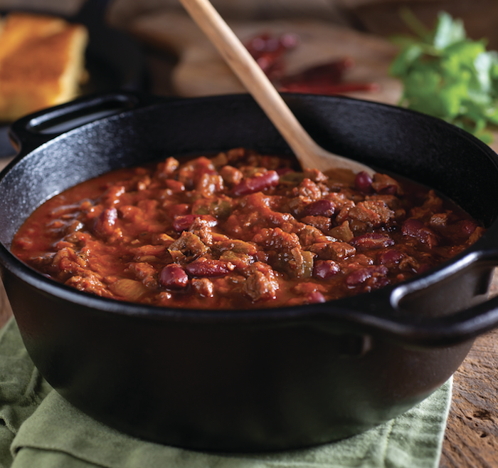 3-Bean Meatless Chili