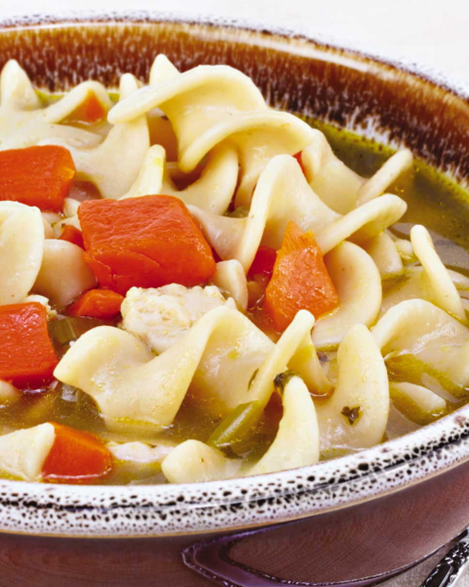Easy Rotisserie Chicken Noodle Soup