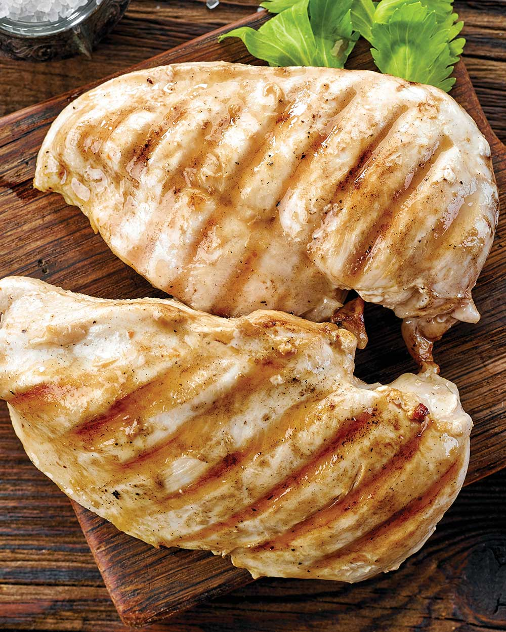 Grilled and Marinated Chicken Breast