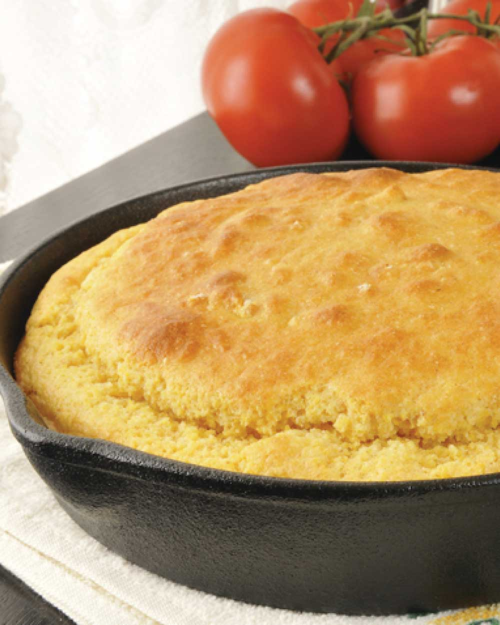 Cornbread with Cheddar Cheese