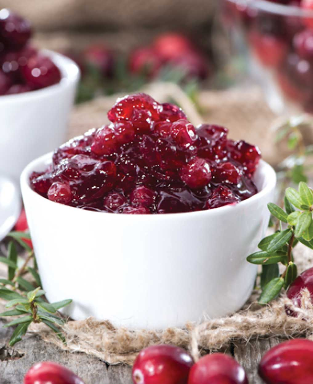 Cranberry Sauce with Orange and Pineapple