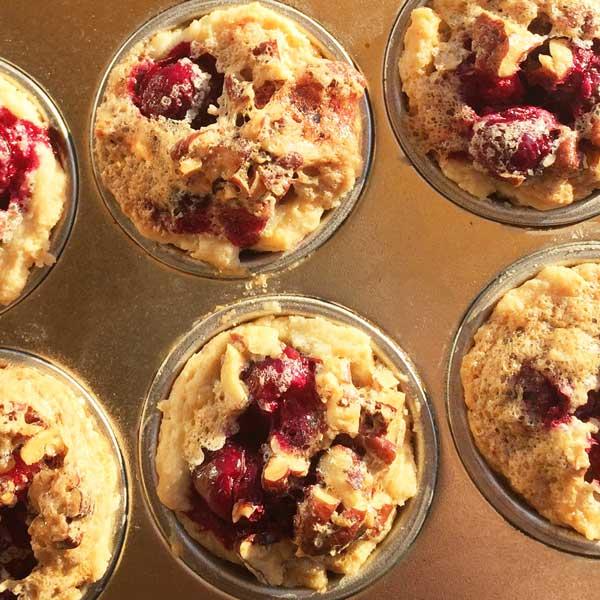 Cranberry-Pecan Tartlets