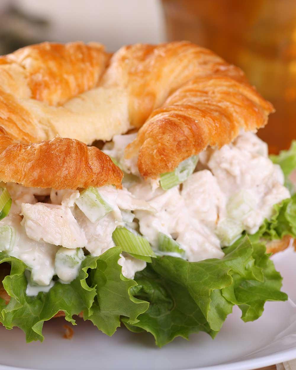 Croissant Chicken Salad Sandwiches