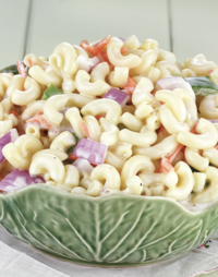 Creamy Greek Yogurt Macaroni Salad