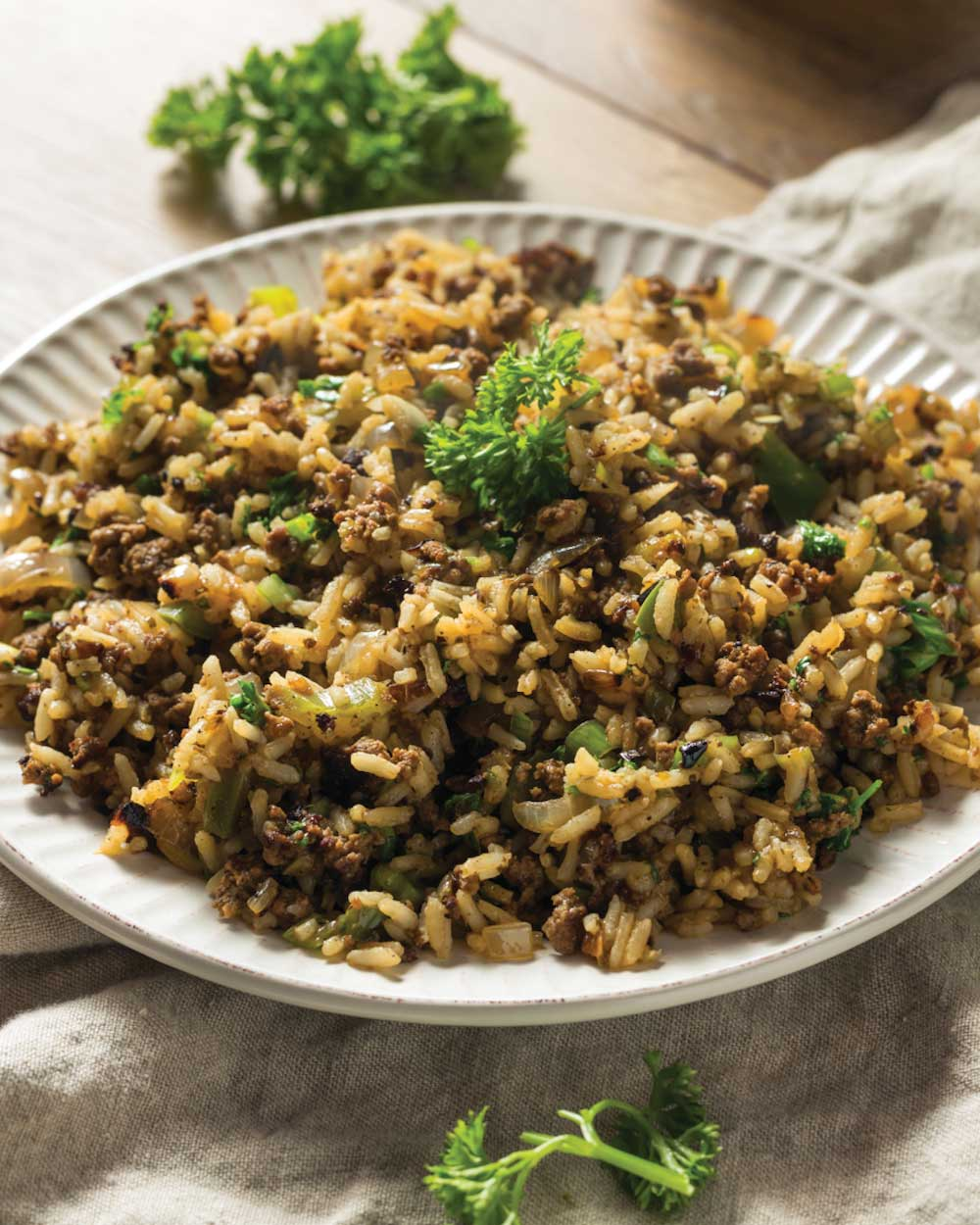 Creole Beef and Rice