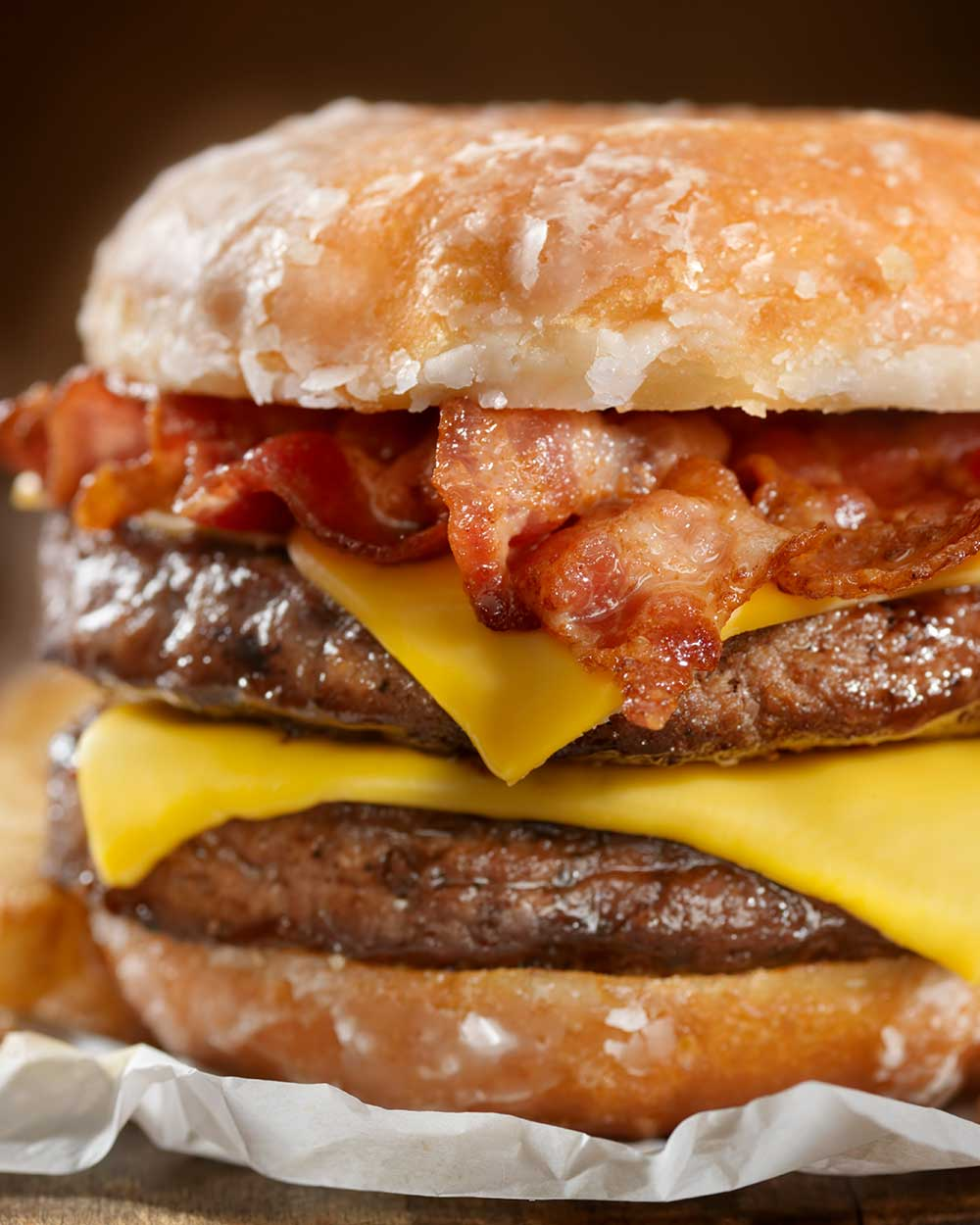 Double Bacon Beef Burger
