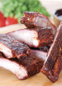 Dry Rubbed Pork Spare Ribs