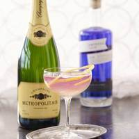 Empress 75 (Empress Gin's take on the French 75)