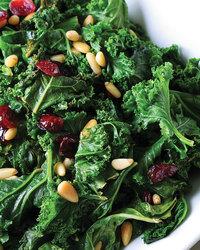 Kale Salad With Avocado & Edamame
