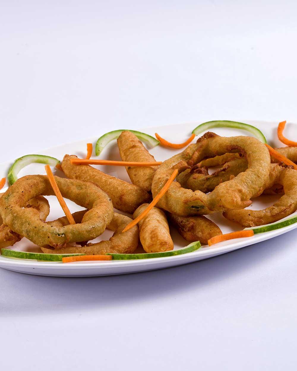 Fried Bell Pepper Rings
