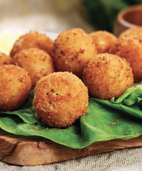 Deep Fried Cheddar Cheese Bites