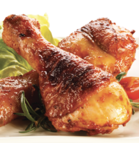 Sticky and Sweet Grilled Drumsticks