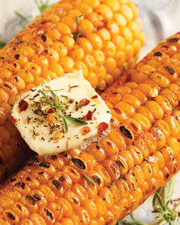 Deliciously Seasoned Corn on the Cob