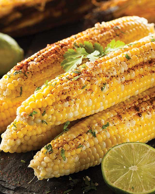 Grilled Corn with Chili Lime Butter