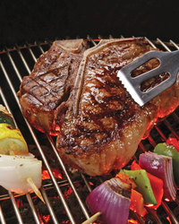 Porterhouse Steak with Jalapeno Butter
