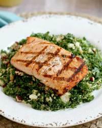 Lemon Kale Salmon Salad