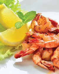 Grilled Shrimp with Lemon and Rosemary