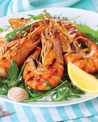 Grilled Thai Shrimp