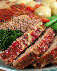 Italian-Style Ground Beef Meatloaf