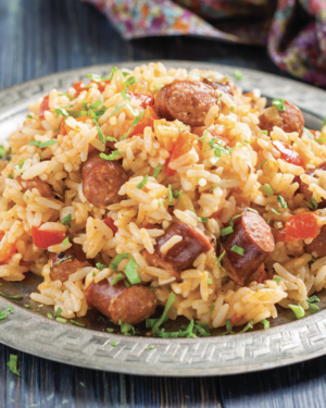 Full-flavored Southwest Jambalaya