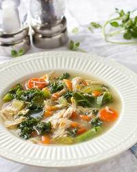Chicken, Kale and Vegetable Soup