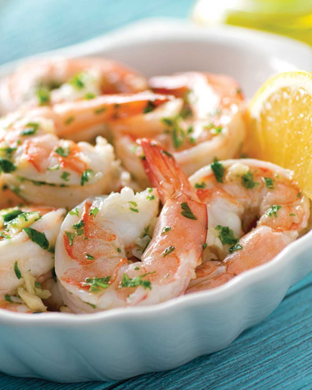 Lemon-Dill Shrimp